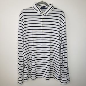 Polo Ralph Lauren Long Sleeve Stripe Polo Shirt XL